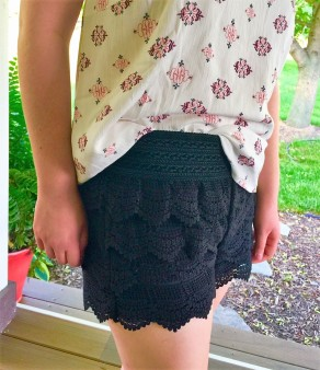 stitch fix teen lace shorts