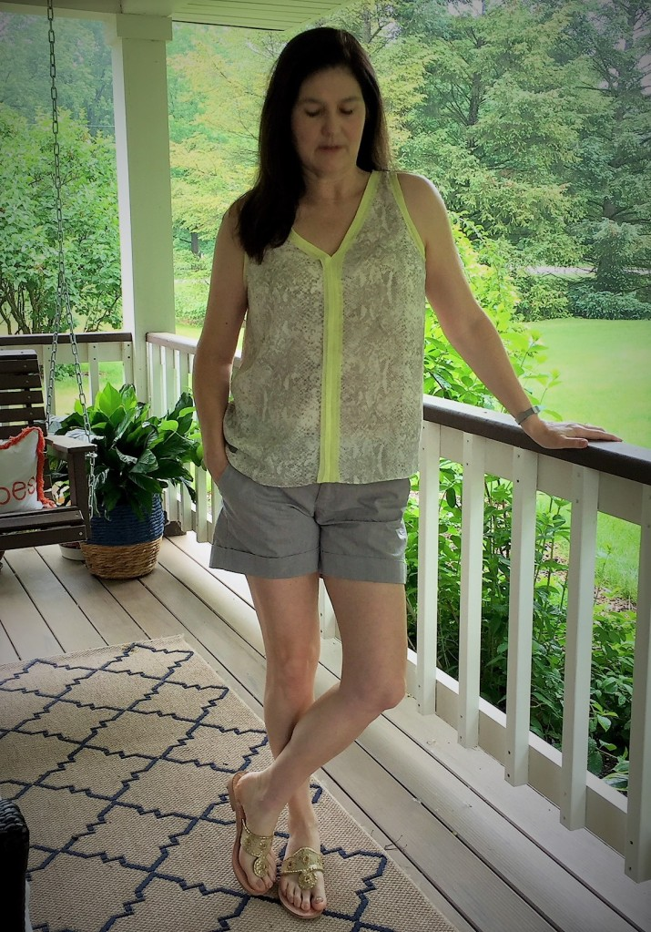 stitch fix shorts blouse