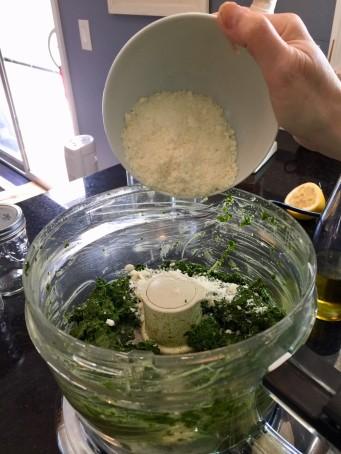 basil pesto add cheese