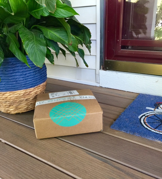 stitch fix box front porch