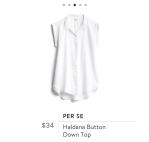 Stitch Fix white blouse