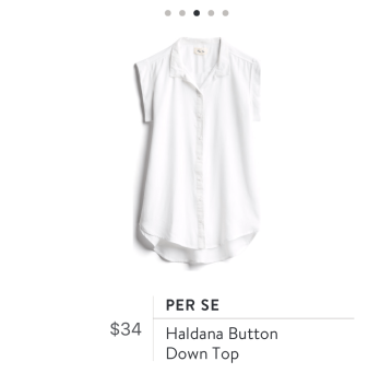 Stitch Fix white blouse