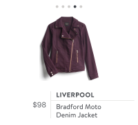 Stitch Fix Liverpool Moto jacket