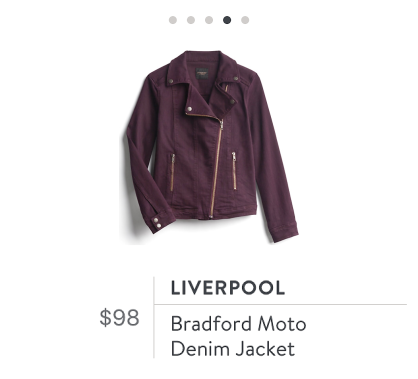 Stitch Fix Liverpool Moto jacket